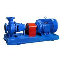 Electric Single Stage End Suction Pump , Light Weight Centrifugal Chemical Pump