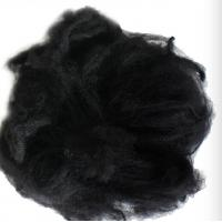 Black Reliance Polyester Staple Fibre 1.2D X 38MM For Non - Woven Fabric