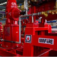 China Diesel Fire Power Engine Water Cold Cooling With 1900-3000rpm Speed on sale
