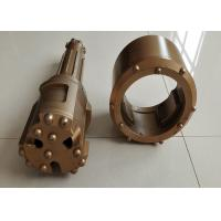 China 76/89mm Overburden Casing Drilling System Efficient Below 300mm Gold Color wholesale