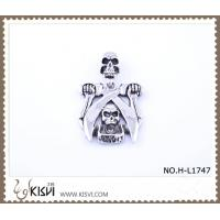 China Hot sell 316 Stainless Steel Death's-Head Pendant H-L1747 wholesale
