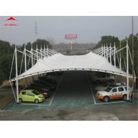 Buy cheap Reusable Car Parking Shed Membrane Structure / Tensile Membrane Canopy from wholesalers