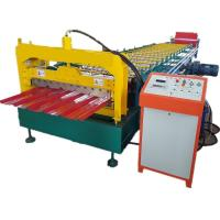 China Roofing Corrugated Sheet 8kw Cold Roll Forming Machine wholesale