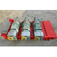 China CE Approved 1 Ton Red Rack And Pinion Hoists with Mast Hot-dip Galvanized wholesale