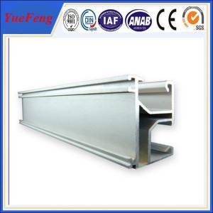 China Solar panel mounting aluminum rail, solar system bracket,Solar Mounting Rail for Roof wholesale