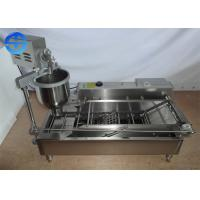 China T-100 Commercial Donut Making Machine 300-1200 Pcs Per Hour For Cake Shop wholesale