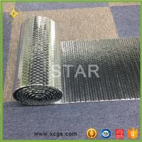 China Double Aluminium Foil Heat Reflective Material Heat Insulating Bubble Material wholesale