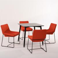 China Long Life Kitchen & Dining Solid Wood Center Table & Chairs For Small Spaces wholesale