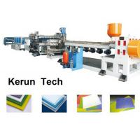 China Plastics Extrusion Machinery / PVC Foam Board Making Machine for Faux Marble wholesale