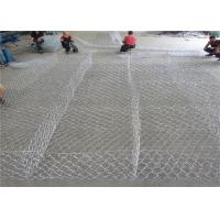 Quality Galfan 10AL - Zn Maccaferri Gabion Wire Mesh Basket For Dam Protecting for sale