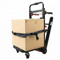 China Electric Pull Truck Tool Car Stair Climbing Trolley With Lithium Battery wholesale