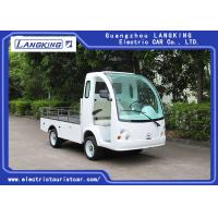 China Left Hand Drive Electric Mini Truck For Amusement Park / Campus / Hotel on sale