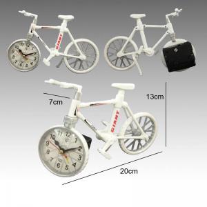 China Novelty bike shape table clock For home decoration wholesale