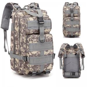 China Customized Woodland Detachable Military Trekking Bags wholesale