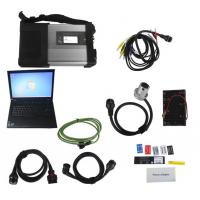 China V2017.07 MB SD Connect C5/ C4 Star Diagnosis Plus Lenovo T410 Laptop With DTS and Vediamo Engineering Software benz star wholesale