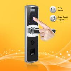 China High Performance Fingerprint Digital Password Door Lock with Emergency Power Interface wholesale