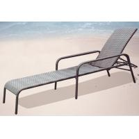 China Outdoor adjustable chaise lounge chair-16066 wholesale
