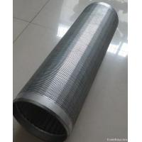 China 316L Wedge Wire Screen Basket Liquid Filter For Pressure Screen In The Pulping Line wholesale