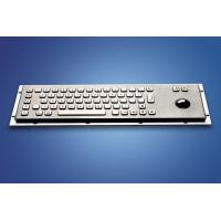 China ZT599B Stainless Steel and Polymer Vandal - Proof Kiosk Metal  Keyboard wholesale