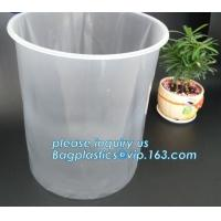 China Plastic rigid round bottom drum liner, antistatic rigid pail liners, Rigid Pail liners/5 gallon bucket liner, Barrel Lin on sale