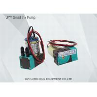 China JYY DC 24V 3W Small Ink Pump Liquid / Air Pump For Inkjet Solvent Printer on sale