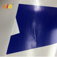 China 500gsm 100% Pvc Flex Plastic Tarpaulin With Glass Fiber For Truck / Tent wholesale