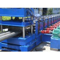China 3 Waves Highway Profile Steel Roll Forming Machine For Expressway Guard Bars Use 45Kw Motor and Hydraulic Cutting wholesale