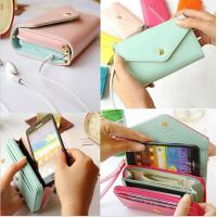 China Universal Pouch Wallet PU Leather Cover Case iPhone 6Plus SamsungGalaxy S3 S4 S5 Note3 4 5 wholesale