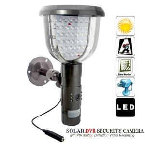 China Solar PIR DVR CCTV Security Video Camera Recorder Motion Detection W/ 39pcs IR LED Lights wholesale