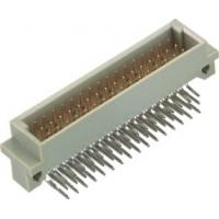 China Right Angle Phosphor Bronze Din41612 Connector 2.54mm 3*16 Pin on sale