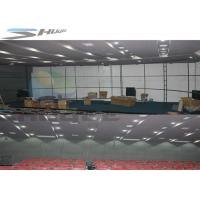 China 6 / 9 / 12 / 18 Persons 4D Motion Cinema Movie Theater With Hydraulic Control Motion Chair wholesale