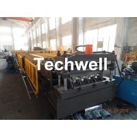 China Welding Wall Plate Machine Frame Structural Metal Deck Forming Machine With Chain Transmission wholesale