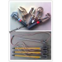 China Earth rod and fitting&grounding devince,+copper wire+hook wholesale