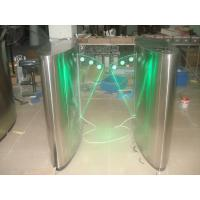China Arms synchronization acrylic glass retractable security gate barrier with color light wholesale