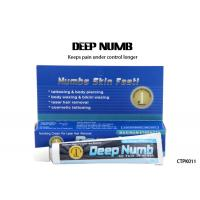Quality Water - Based Deep Numb Tattoo Cream Topical Anesthetic Gel Pain Killer for sale