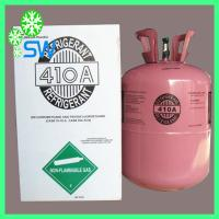 China 25LB/11.3KG mixed refrigerant gas r410a for sale wholesale