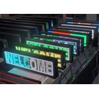 China Electronic Advertising  Programmable Scrolling LED Sign 16 x 32 Dot Matrix wholesale