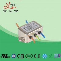 China 10A Electrical DC Line Noise Filter ISO9001 Certification OEM Service wholesale