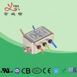 China Single Phase DC Line Noise Filter , Refrigerator EMI RFI Power Line Filter wholesale