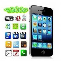 China Wholesale E9000, WIFI+JAVA, Bluetooth FM function Touch Mobile Phone, Dual Sim cards Dual standby Du wholesale