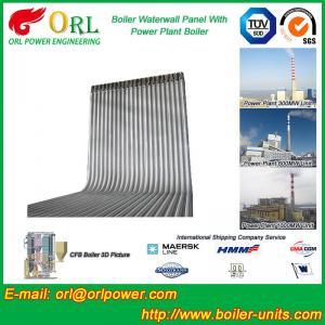 China Steel Water Heat Boiler Water Wall , Waterwalls High Temp TUV Certification wholesale