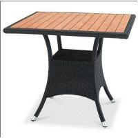 China Outdoor furniture teak top dinning table--16081 wholesale