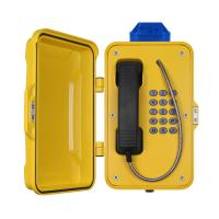 China IP67 Industrial Weatherproof Telephone With Beacon , PoE Powered Tunnel Phone wholesale