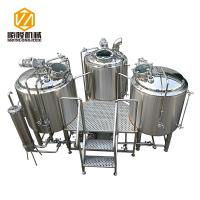 Buy cheap 12HL Large Scale Brewing Equipment 3 Phases Stainless Steel CE Certificated from wholesalers