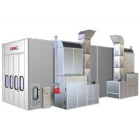 China Infrared Downdraft Car Spray Paint Booth With 2 Units Personal Door wholesale