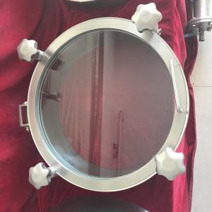 China Sanitary Stainless Steel Manway Door, Elliptical Manway Manlid wholesale