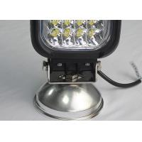 Quality Square Vehicle LED Driving Lights 48W 6000K 4600 Lumen LED Work Lamp for Trucks for sale