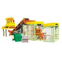 China QT12 fly ash block making machine from QGM on sale