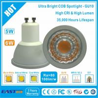 Buy cheap 6W GU10 COB Spotlight (Ultra Bright) - Warm White from wholesalers