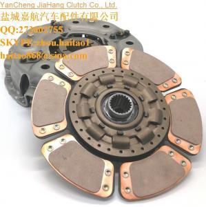 """China DK65S DK75 DK90 13 """" 22 spline heavy duty 6 pad tractor clutch T5189-14302 wholesale"""